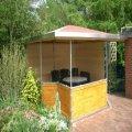 Rohrverbinder am Pavillon (6)